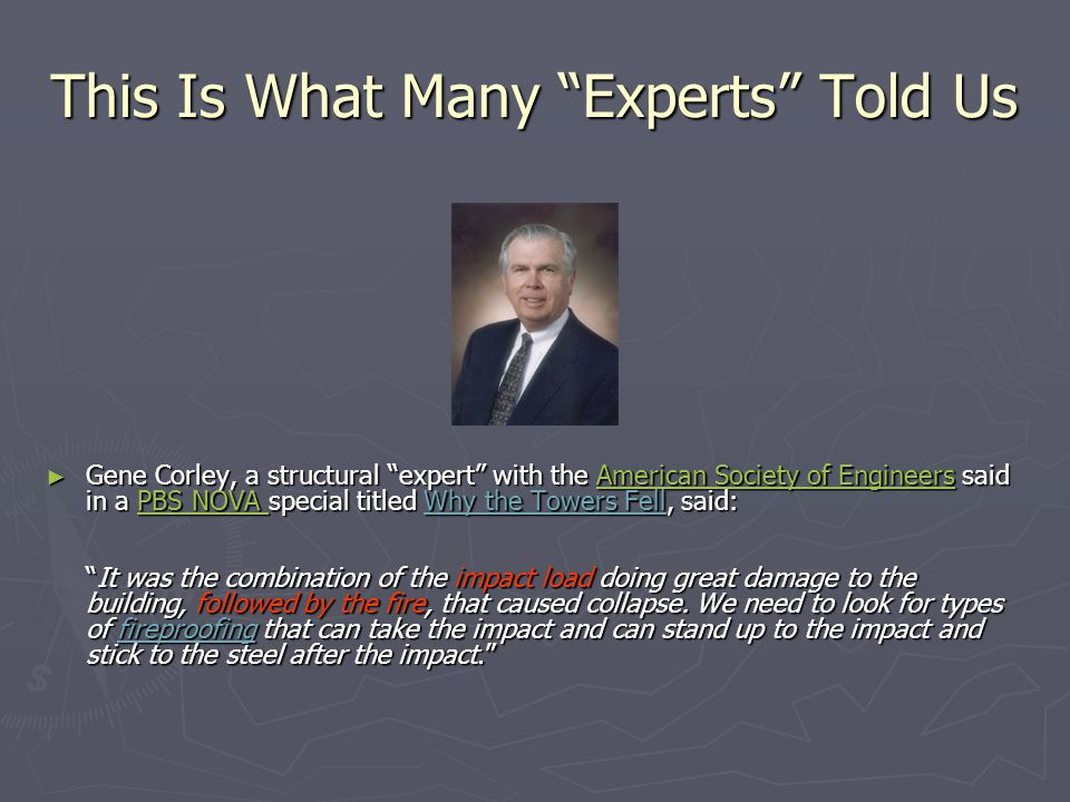 This Is What Many Experts Told Us