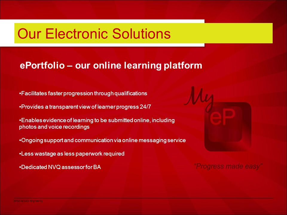 Our Electronic Solutions