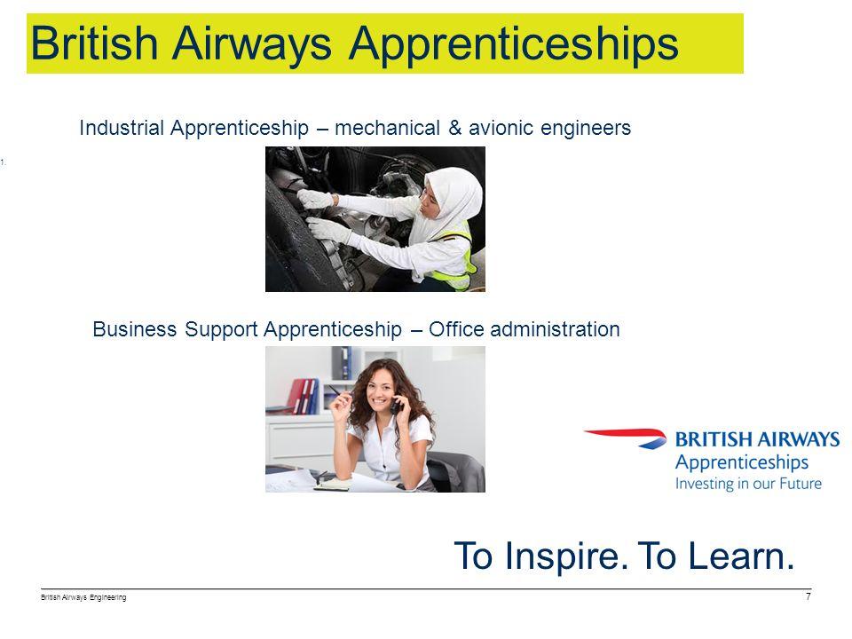 British Airways Apprenticeships