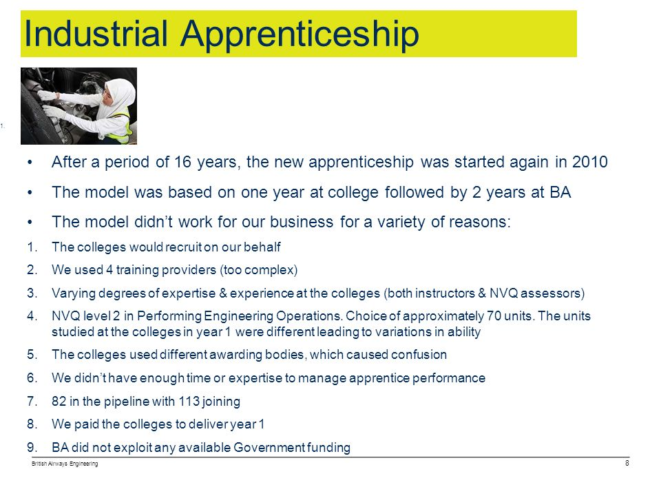 Industrial Apprenticeship