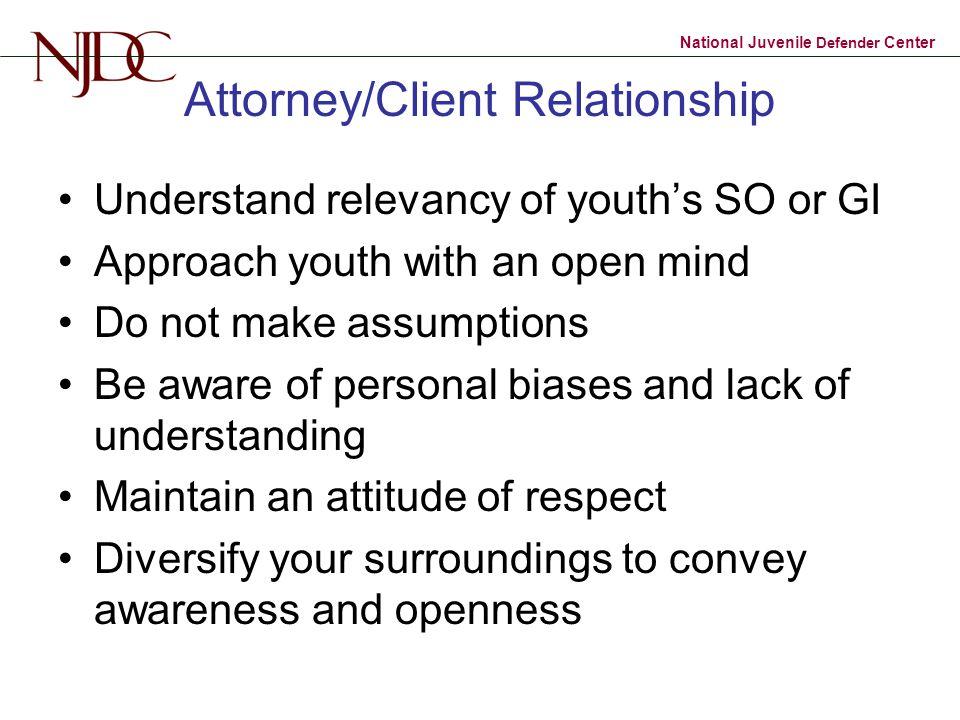 Attorney/Client Relationship