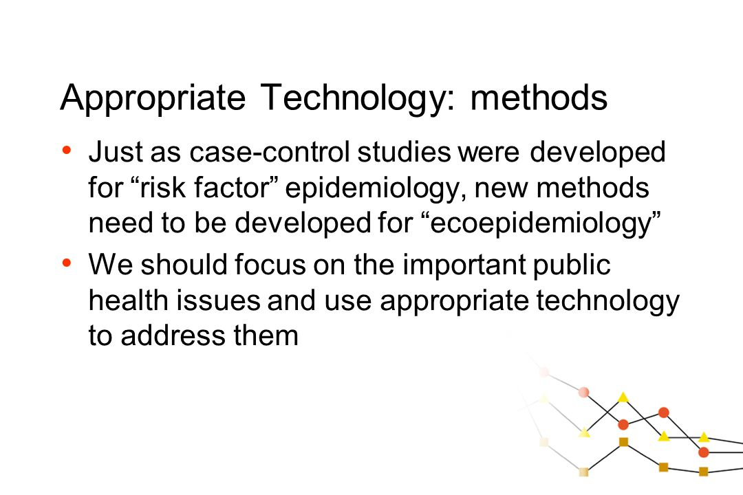 Appropriate Technology: methods