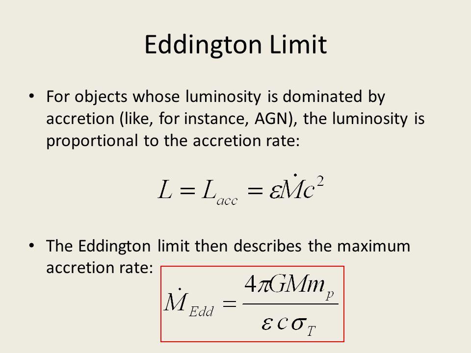 Eddington Limit