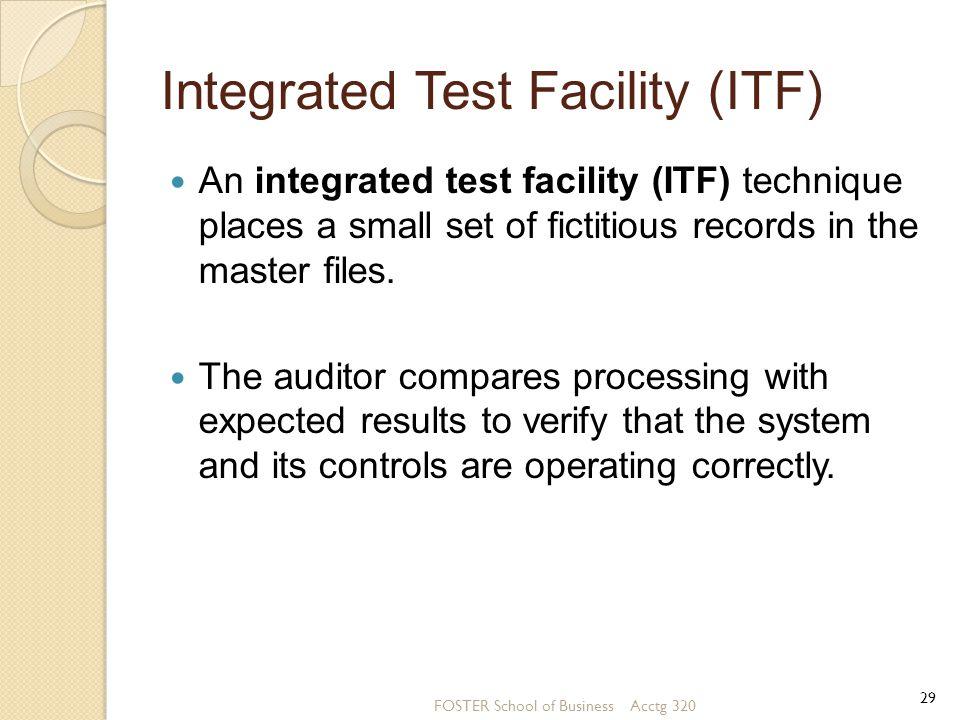 Integrated Test Facility (ITF)