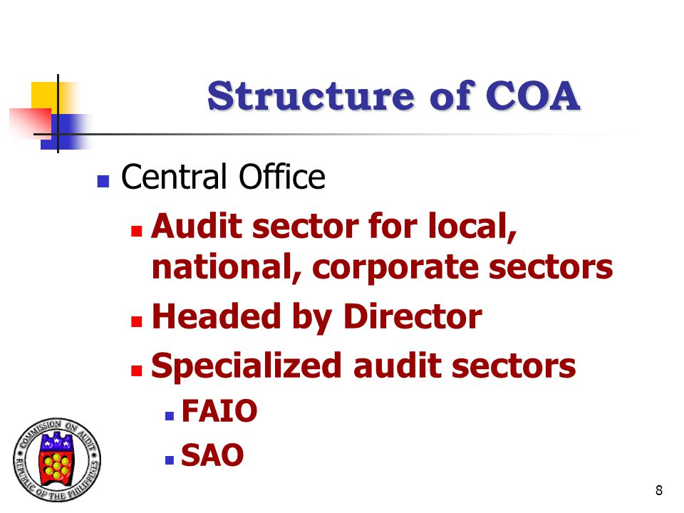 Structure of COA Central Office