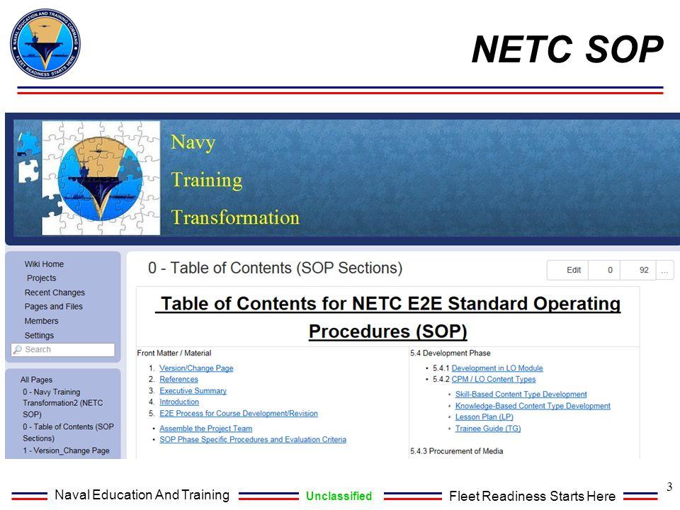 NETC SOP