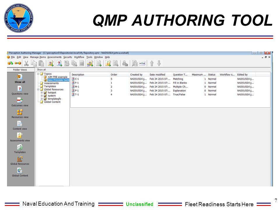 QMP AUTHORING TOOL