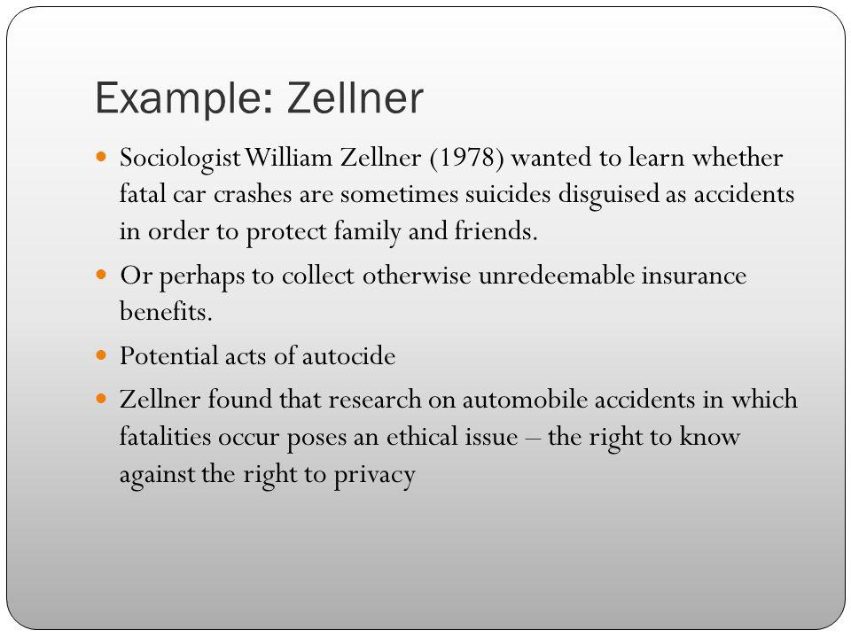 Example: Zellner