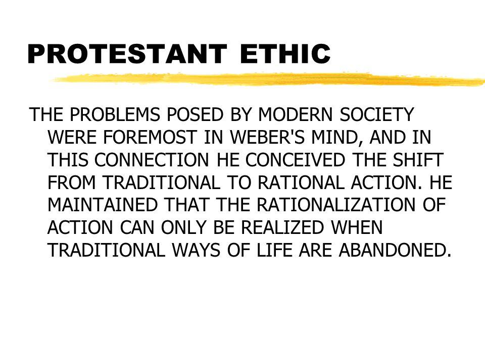 PROTESTANT ETHIC