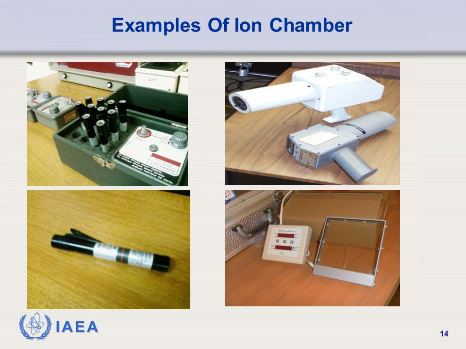 Examples Of Ion Chamber