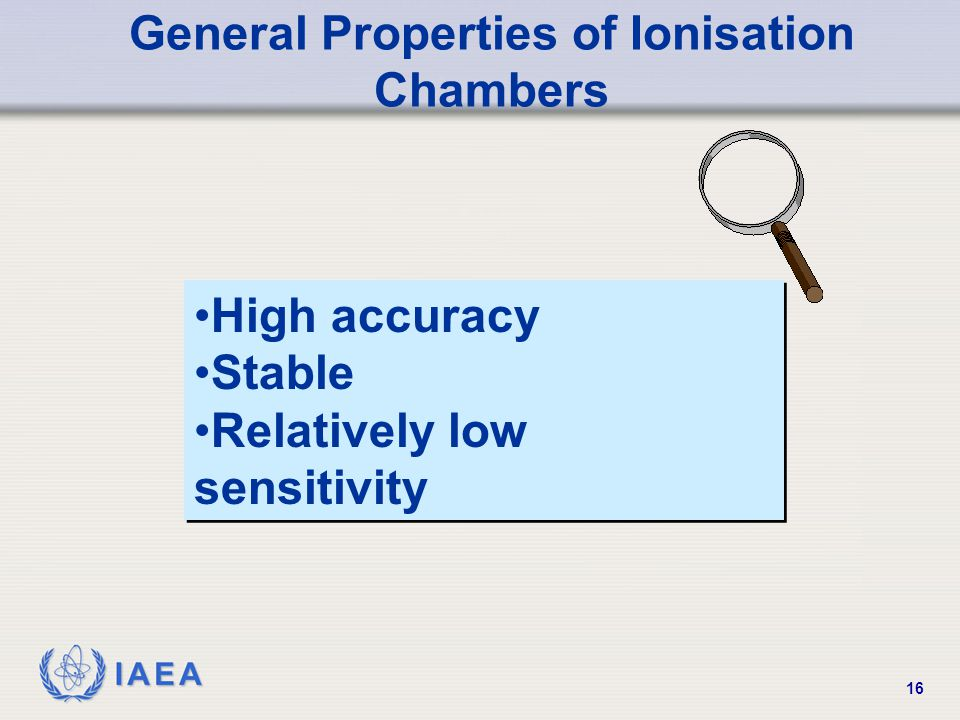 General Properties of Ionisation Chambers