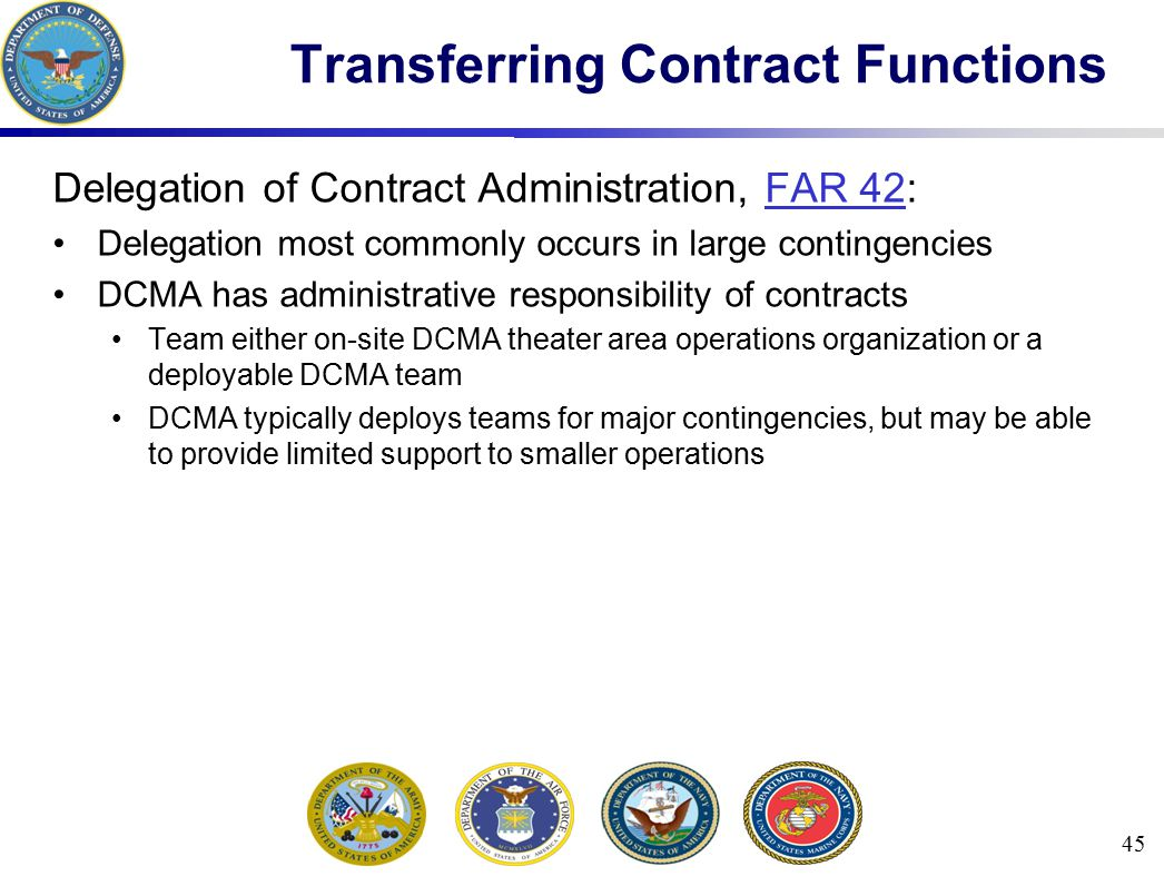 Transferring Contract Functions