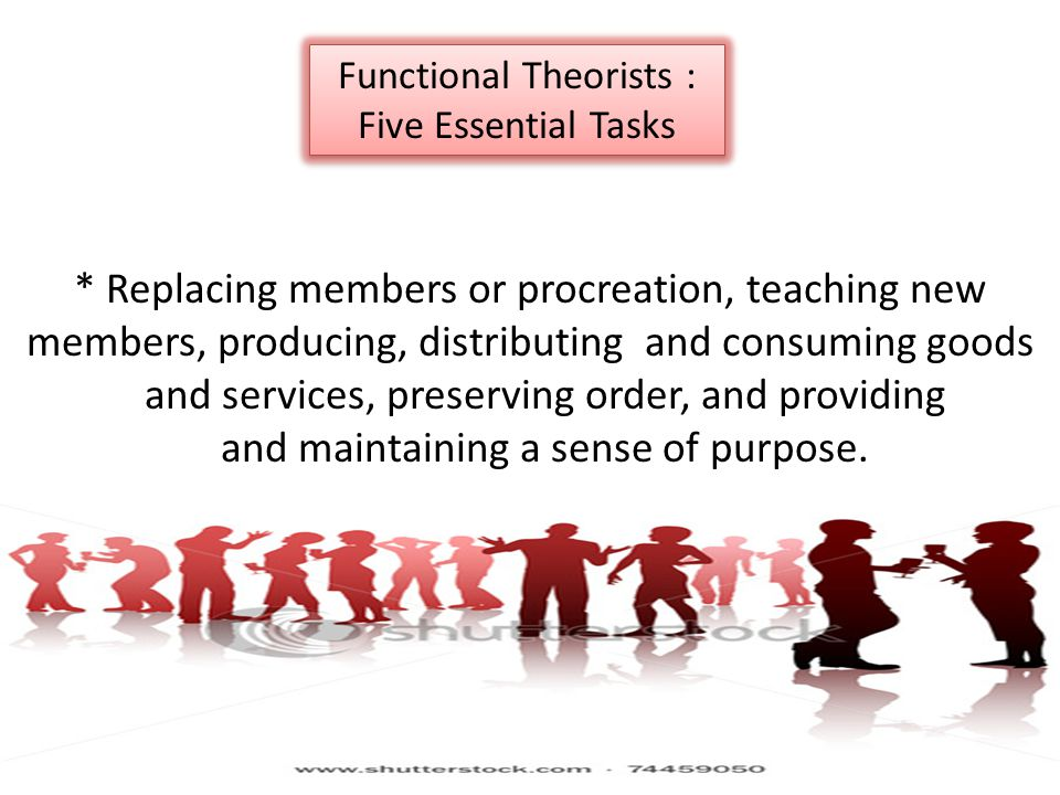 and services, preserving order, and providing