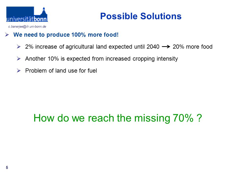 How do we reach the missing 70%
