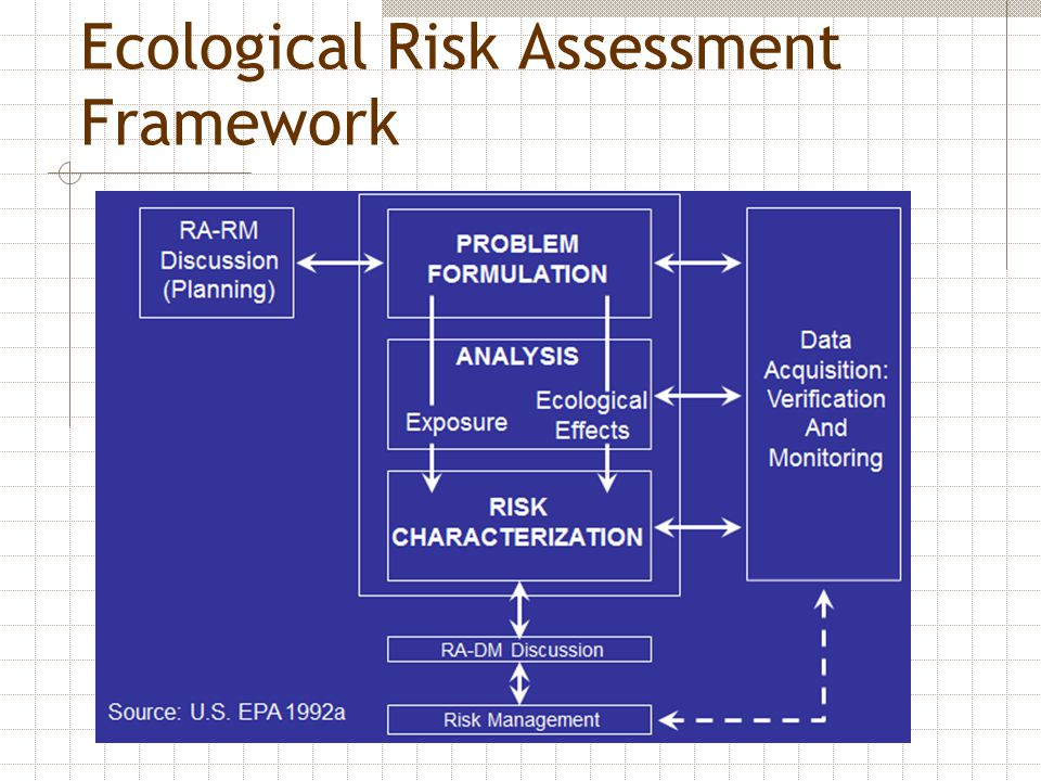 Ecological Risk Assessment Framework