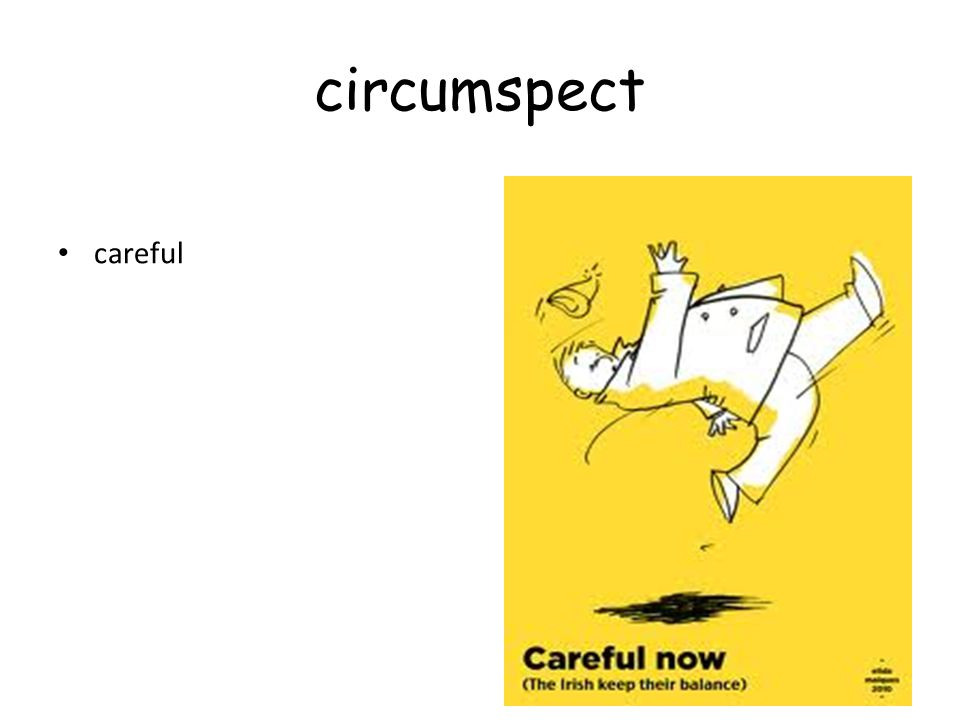 circumspect careful