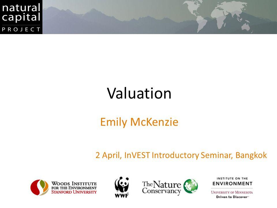 2 April, InVEST Introductory Seminar, Bangkok