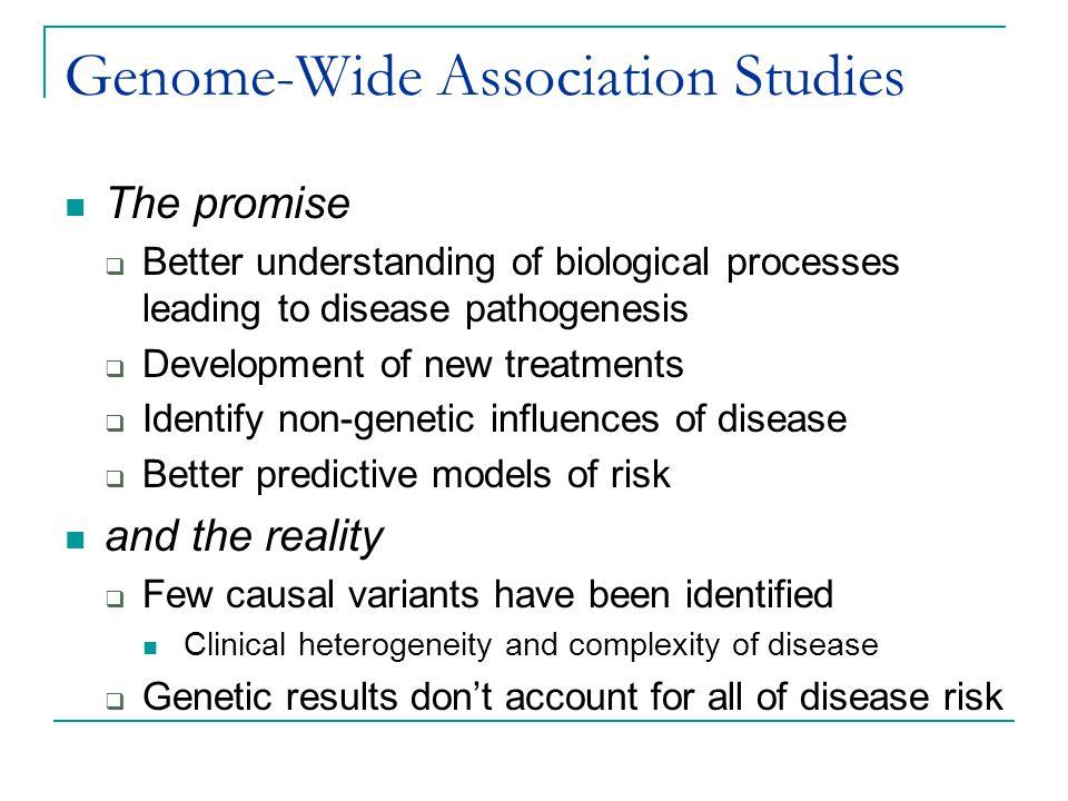 Genome-Wide Association Studies