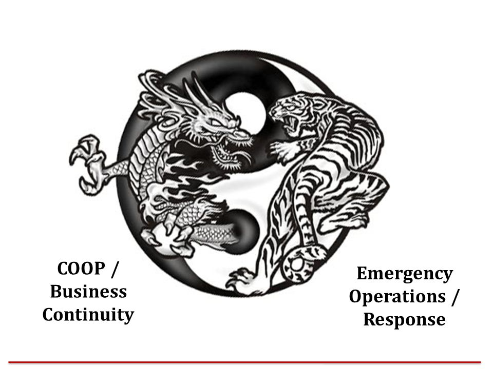 COOP / Business Continuity Emergency Operations / Response