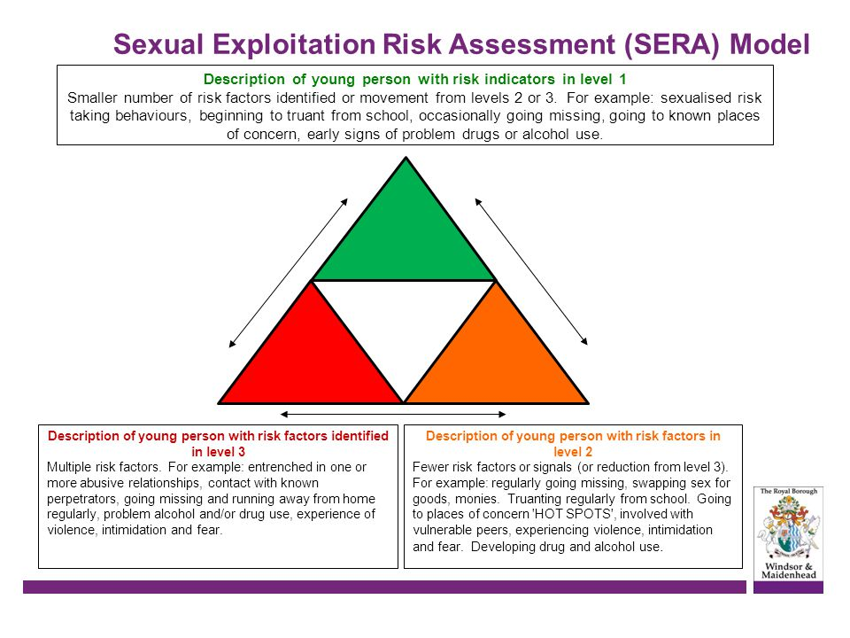 Sexual Exploitation Risk Assessment (SERA) Model
