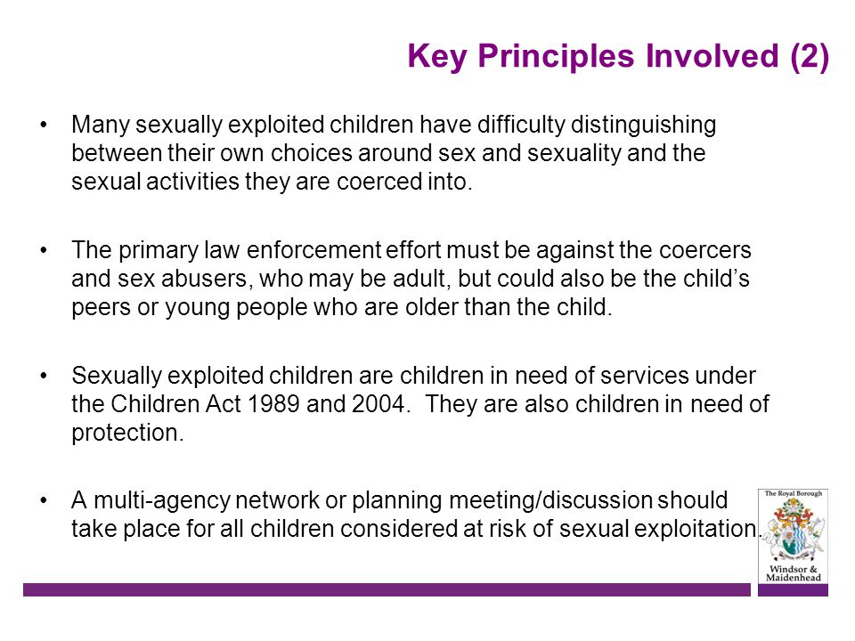 Key Principles Involved (2)