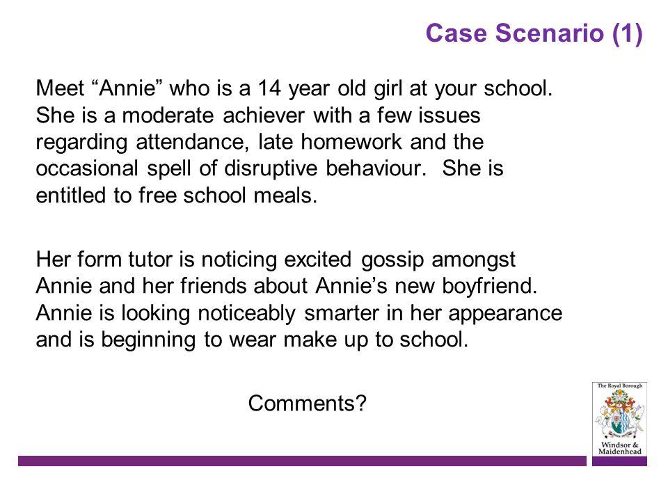 Case Scenario (1)