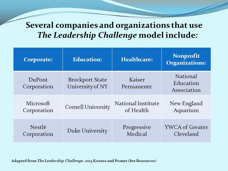 Nonprofit Organizations:
