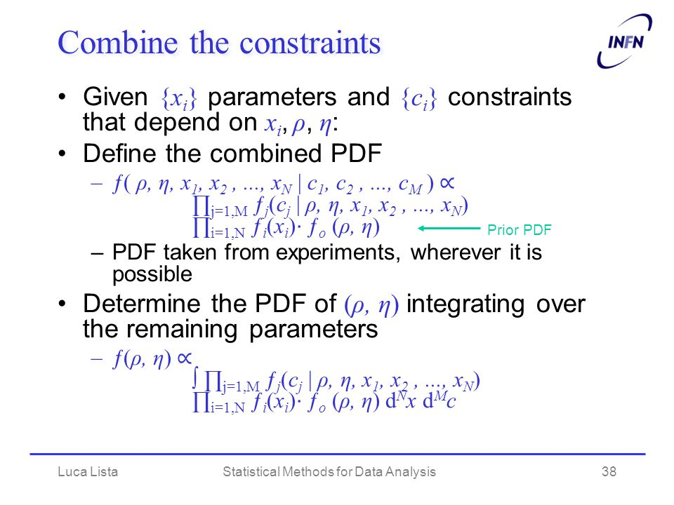 Combine the constraints