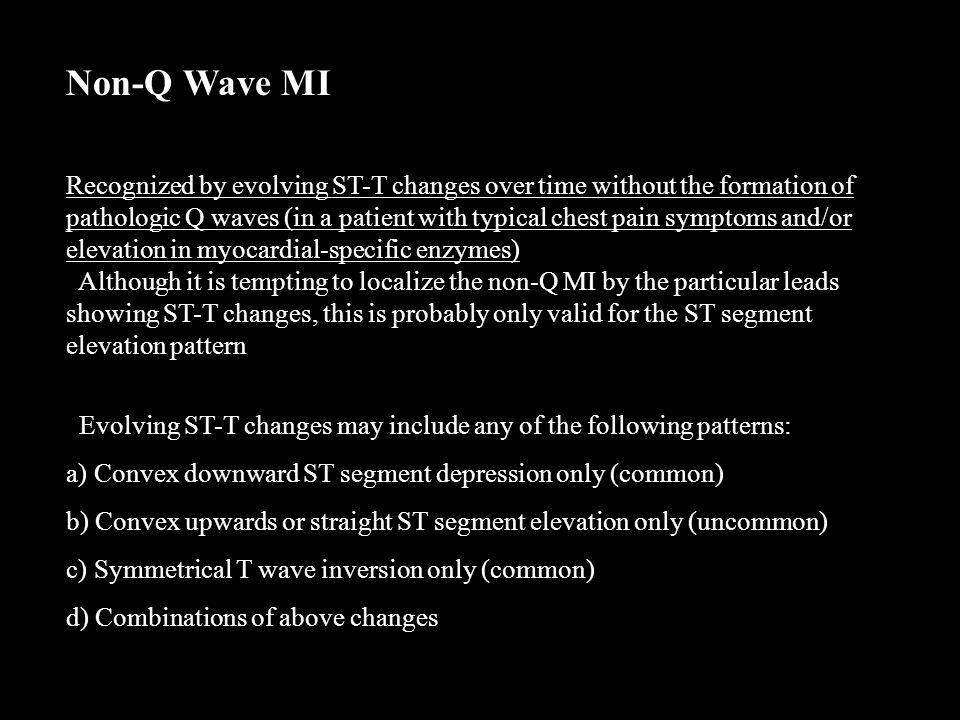 Non-Q Wave MI