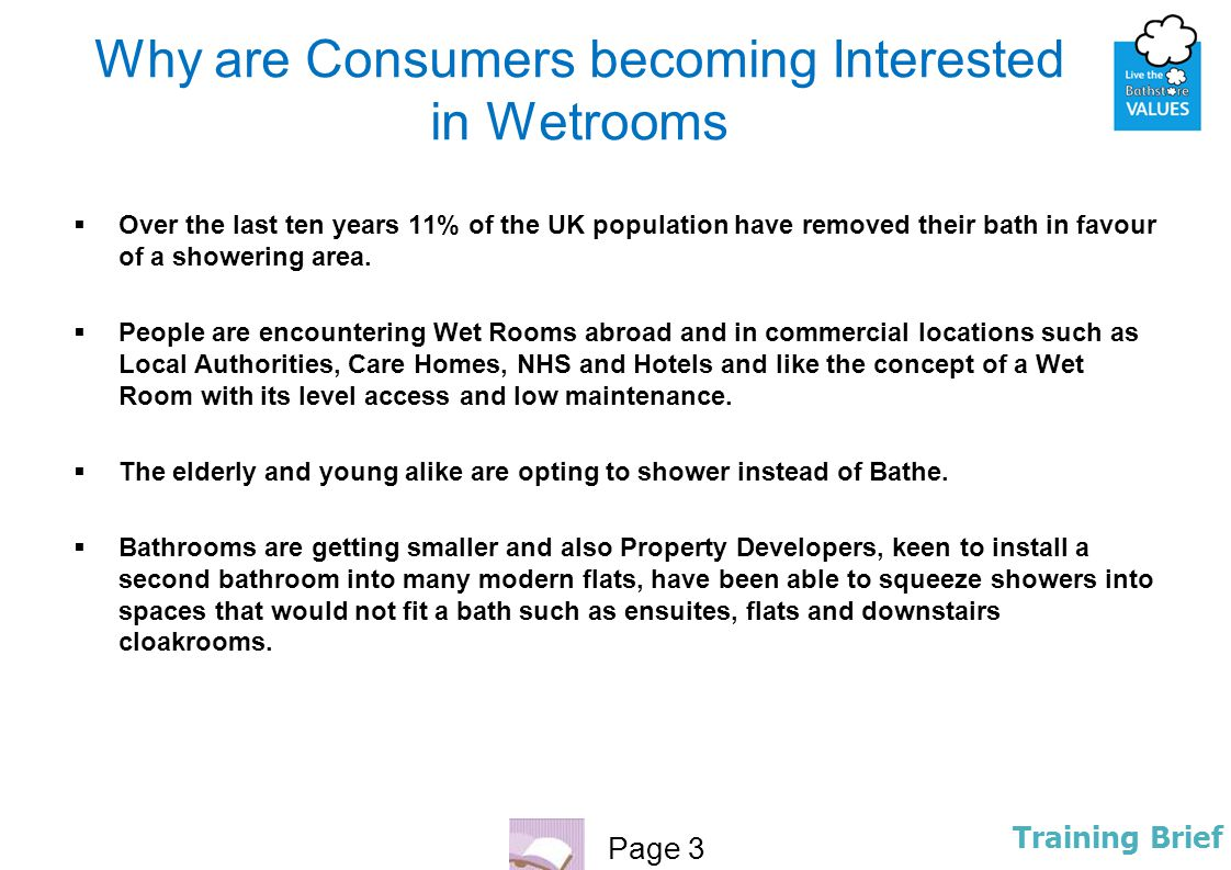 Why are Consumers becoming Interested in Wetrooms