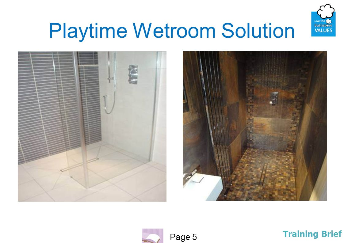 Playtime Wetroom Solution