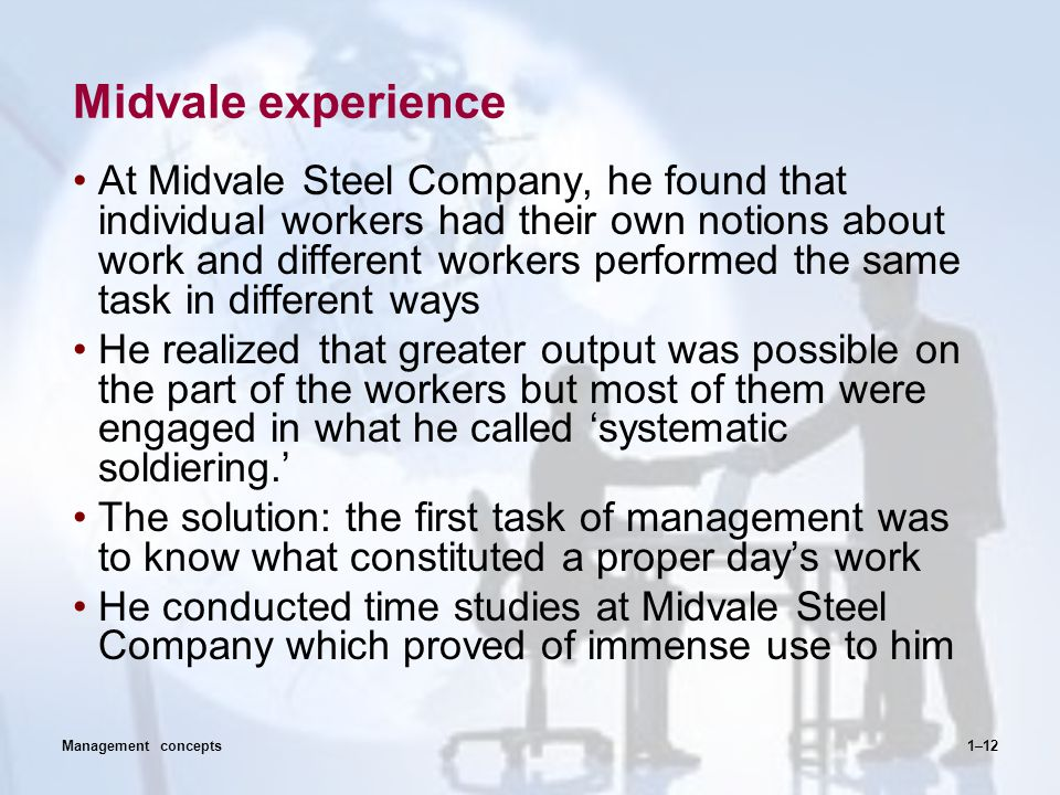 Midvale experience