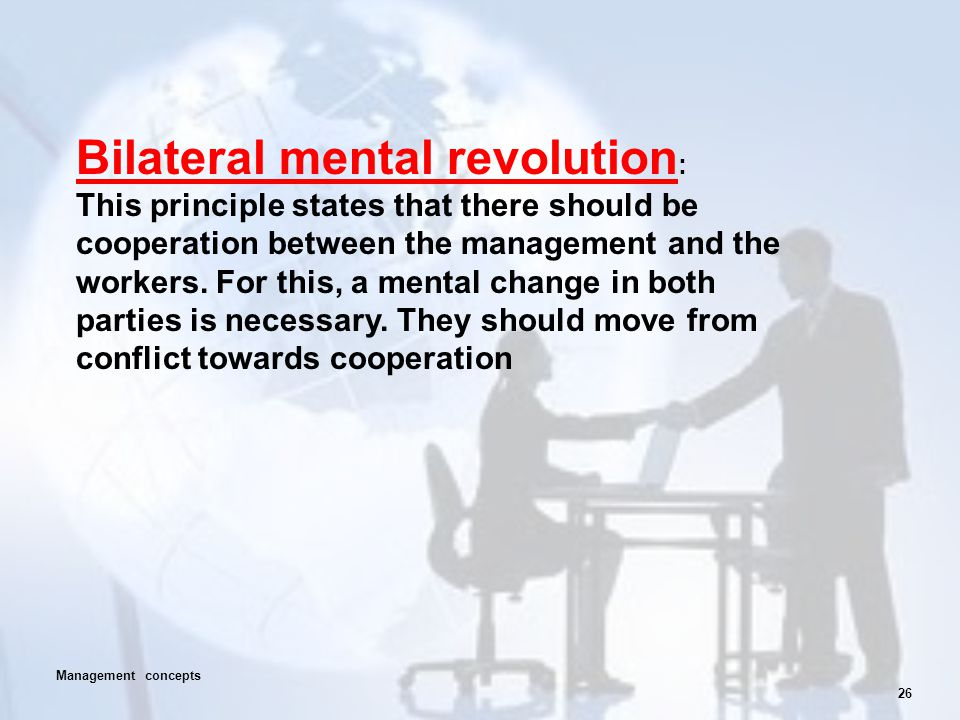 Bilateral mental revolution: