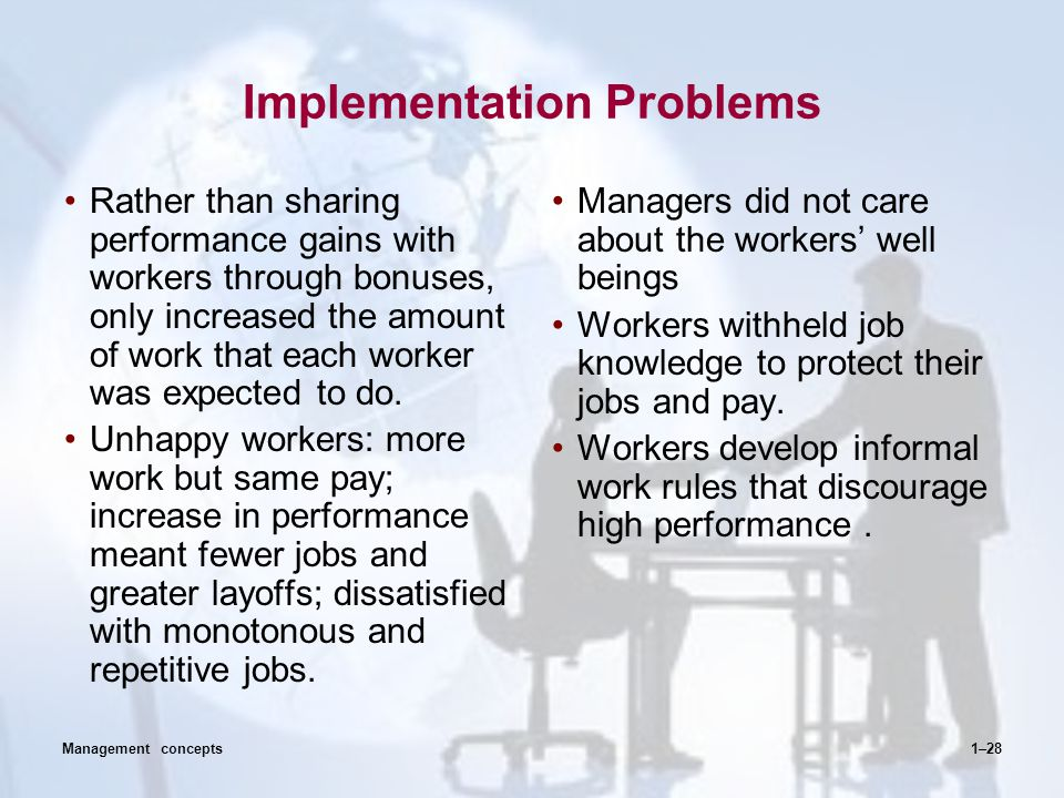 Common Examples of Performance Management Problems