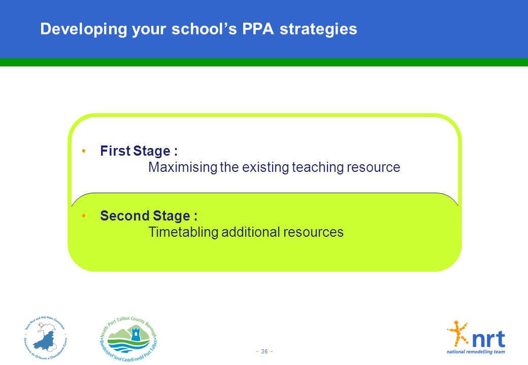 Developing your school's PPA strategies