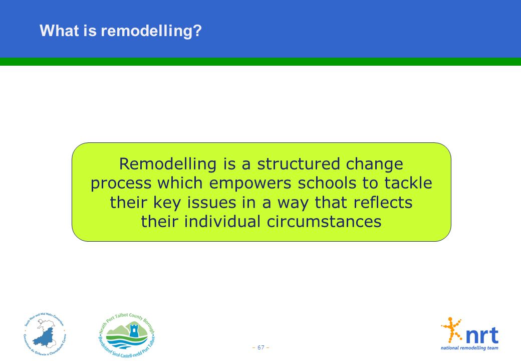 What is remodelling