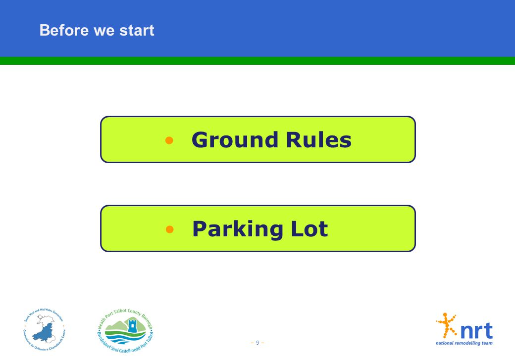 Ground Rules Parking Lot