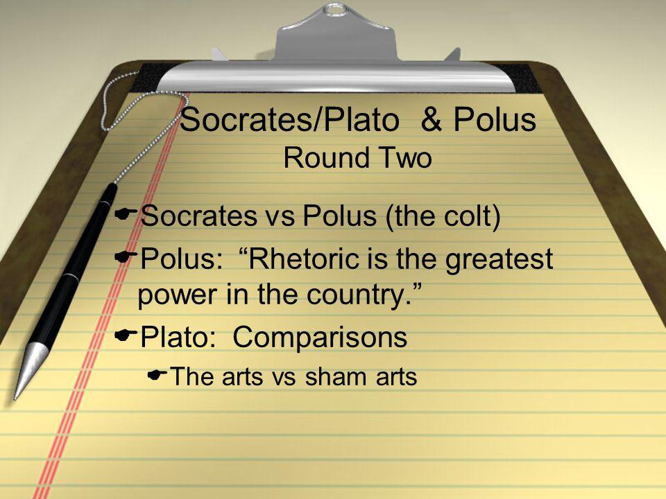 Socrates/Plato & Polus Round Two