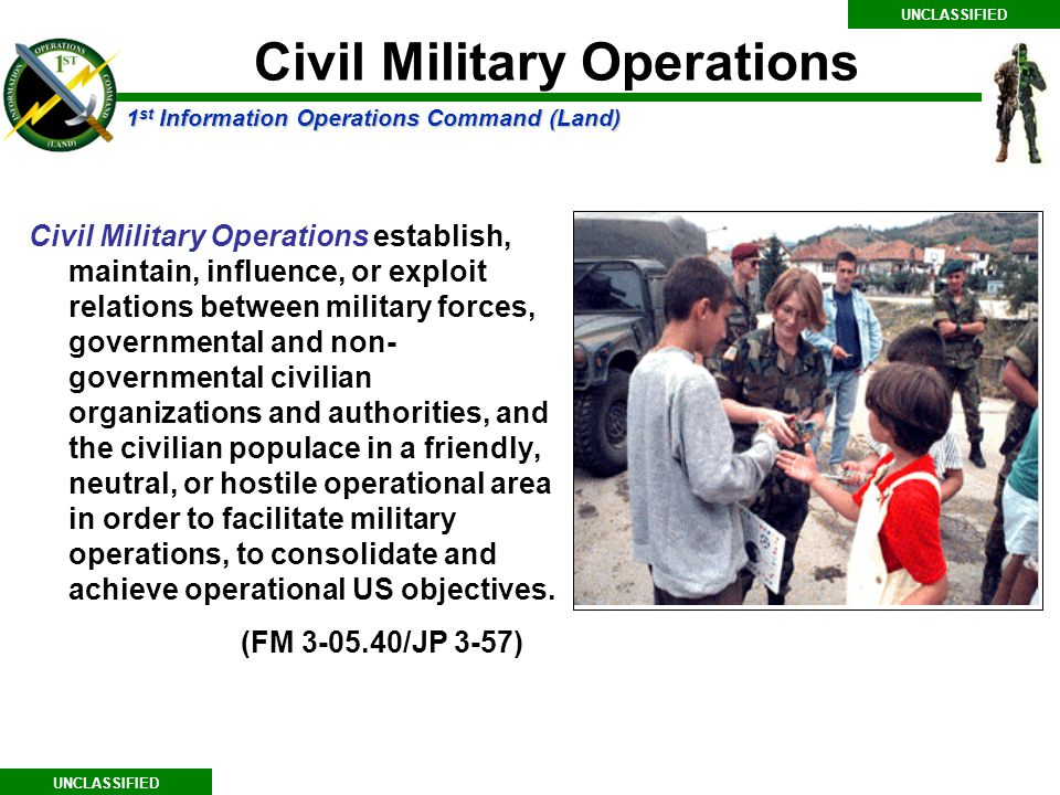 Civil Military Operations