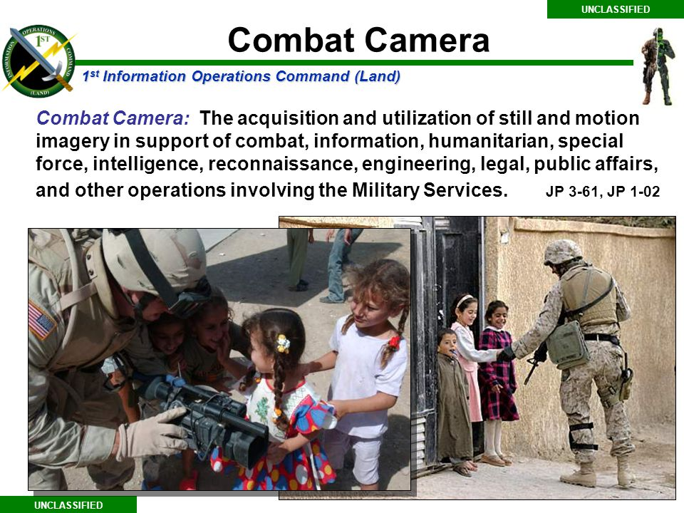 UNCLASSIFIED Combat Camera.