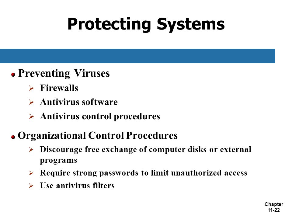 Protecting Systems Preventing Viruses