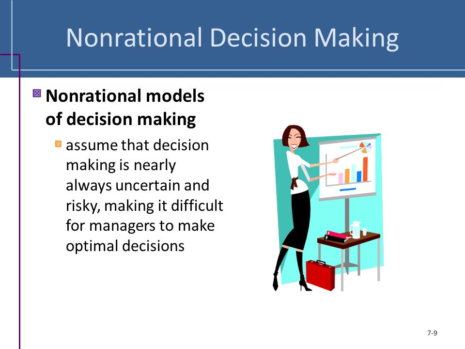 Nonrational Decision Making