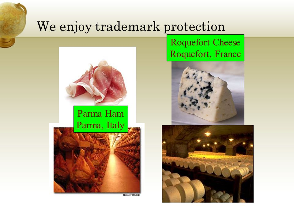 We enjoy trademark protection