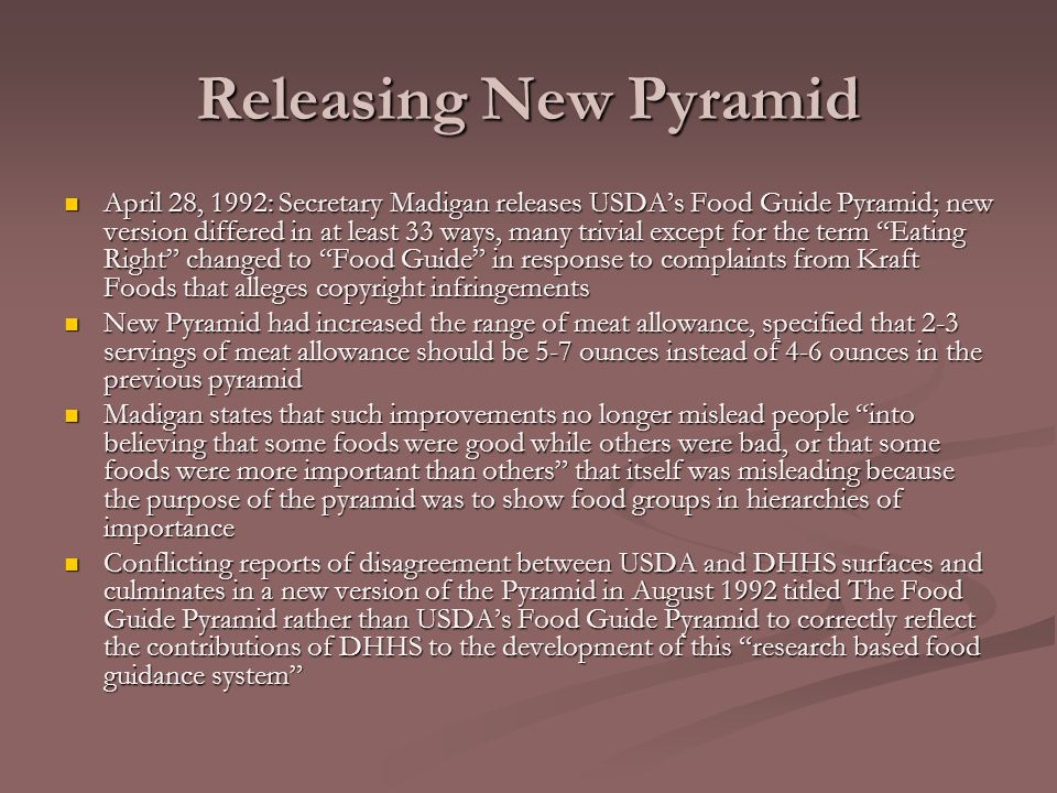 Releasing New Pyramid