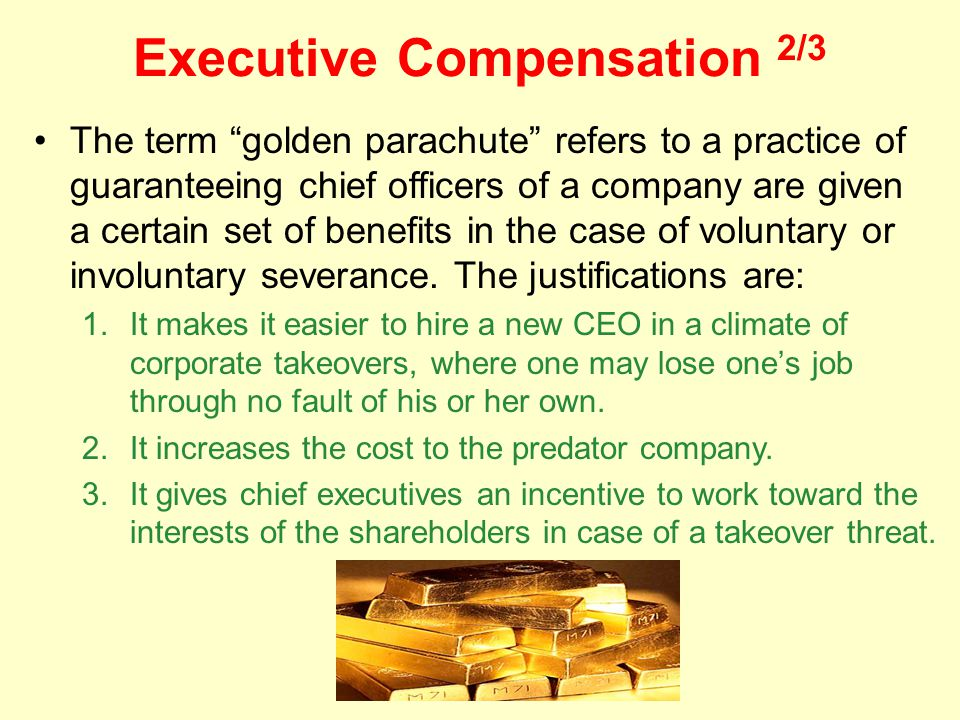 Executive Compensation 2/3