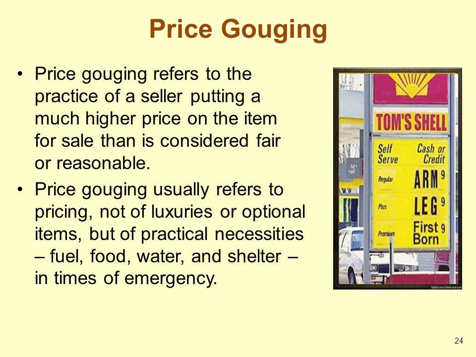 Price Gouging