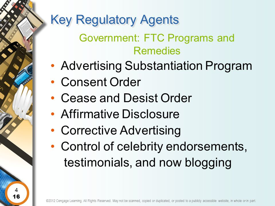 Government: FTC Programs and Remedies