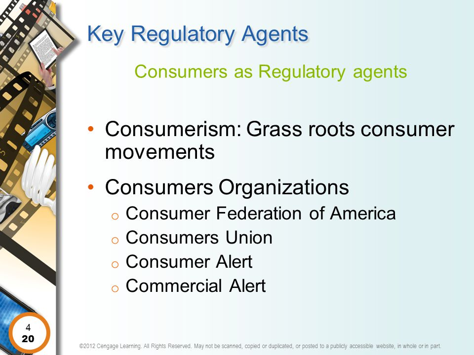 Consumers as Regulatory agents