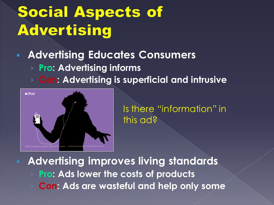 Social Aspects of Advertising