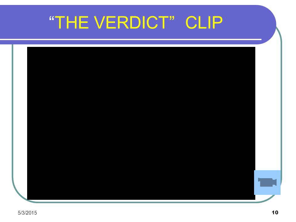 THE VERDICT CLIP 4/14/2017